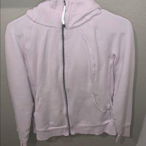 Lululemon Soft Pink Scuba Hoodie